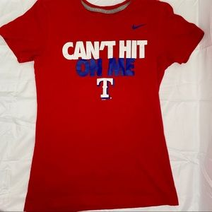 Texas rangers nike fitted shirt, red white blue